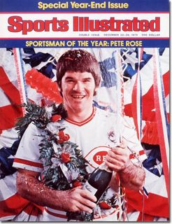 Pete Rose Sports Illustrated